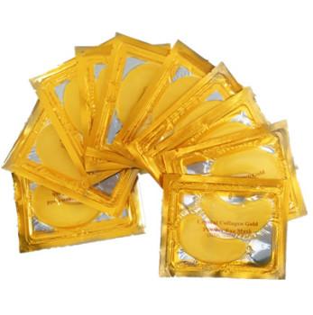 黃金眼膜貼 水晶膠原蛋白眼膜補水抗皺