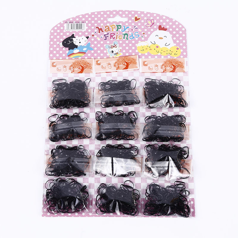 Korean headrope disposable rubber band strong pull continuous children hair band head flower hair accessories wholesale