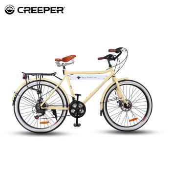 CREEPER爬行者變速山地自行車26寸鋁合金公路越野成人單車