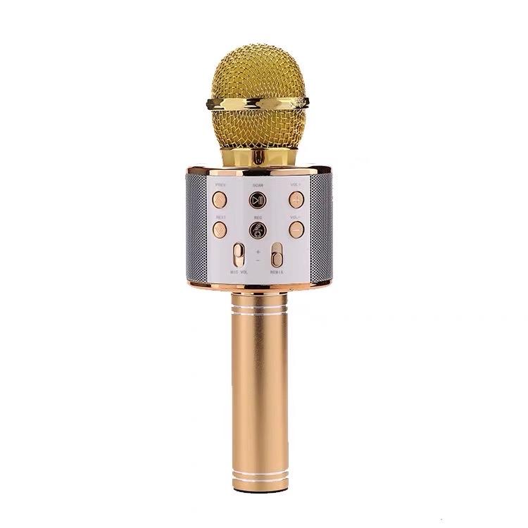Mobile phone karaoke microphone microphone audio karaoke capacitor live bluetooth wireless microphone wireless amplifier