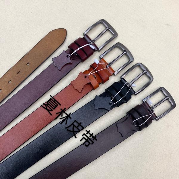 Men leather belt Men archaized casual belt pure leather Men buckle belt fashion