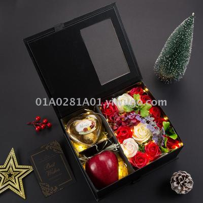 Christmas practical girl heart peace fruit chocolate creative exquisite gifts for boyfriend and girlfriend douyin web celebrity