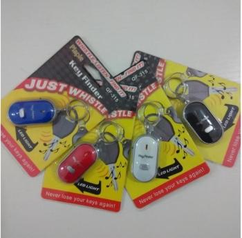 315口哨钥匙寻找器口哨感应电子灯防丢器四种颜色