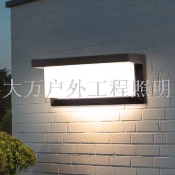 超亮戶外壁燈防水庭院燈現代簡約led門口室外墻燈樓梯過道陽臺燈