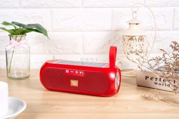 新款太阳能充电手提蓝牙音响 音箱 支持TWS  TF卡 U盘 FM  TG182