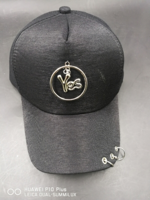 Three ring plus logo baseball cap sunshade hat foreign trade cap processing cap price cheap cap stock cap