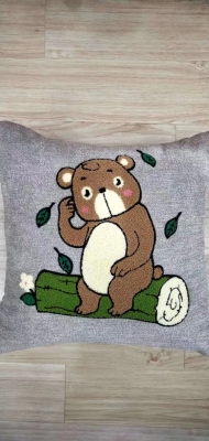The Value towel embroiders linen to parter pillow to parter pillowcase cartoon, lovely as for leaning on as for leaning on covers bedding daily necessities