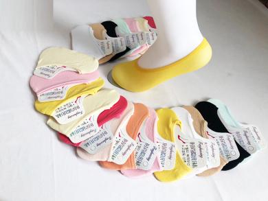 船袜女浅口短袜日系可爱夏季薄款韩国隐形低帮硅胶防滑透气棉袜子