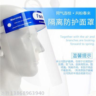 Anti-Fog Safety Transparent Protective Face Sheild