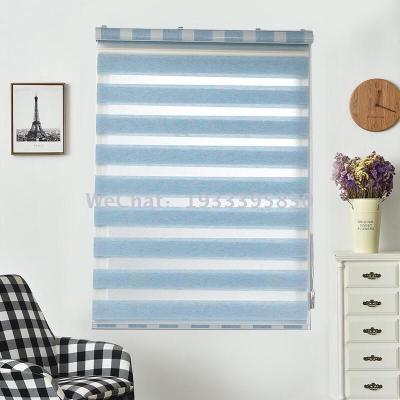 Shading rou curtain new jacquard living room bedroom kitchen shutter bathroom louver curtain custom curtain manufacturer