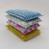 干净海绵刷5片随机混款混色袋装洗锅洗碗干净洗