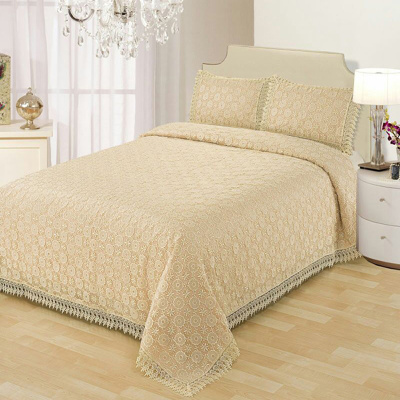 Hot selling New Design OEM service queen size bedspread