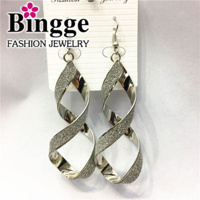 Popular jewelry tiedan earrings simple fashion personality