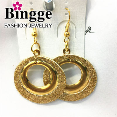 European and American series fashion glitter earrings