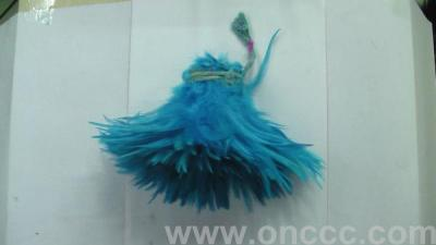 05-feather feather accessories toy jewelry show clothes