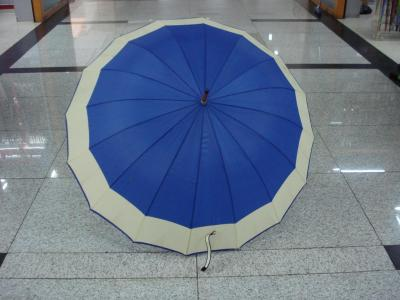Wood stick side automatic umbrella trade umbrella advertising umbrella 65CM16k
