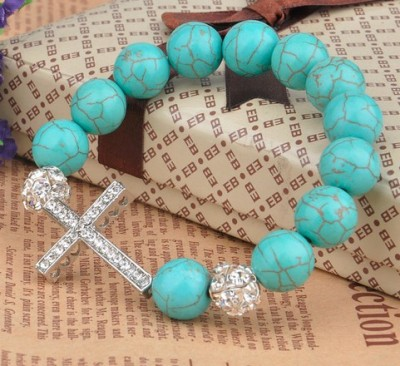 Popular fashion natural stone ornaments with a 12mm round bead bracelet