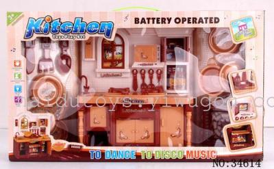 Sea toys, music cabinets Brown light 34614