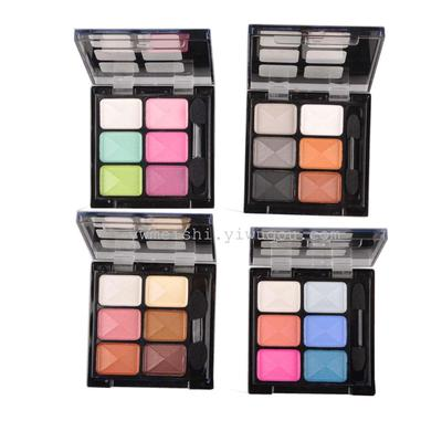 MEIS cosmetics 6 color 4 series dazzle color eye shadow cosmetics wholesale MEIS manufacturers direct sales