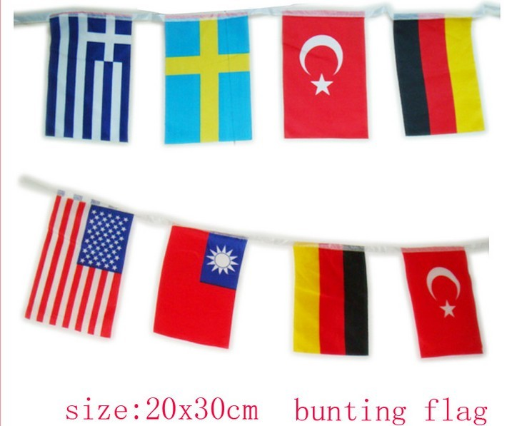 Supply Triangular flags wholesale supply of a variety of