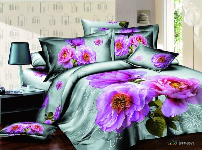 Fashion cartoon bedding four-piece) color optional green environmental protection printing and dyeing quality assurance