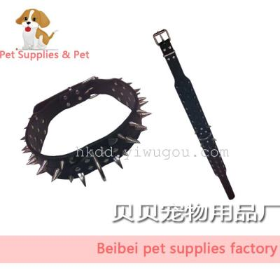 Spike spikes/large dog collar/pet supplies/pet collar dog collar