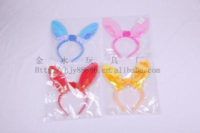 Factory direct hot new Christmas special glitter head band headband antlers first withholding light creative toys