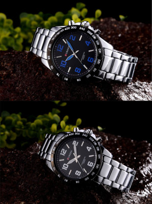 CURREN men's casual belt business watch new model watch