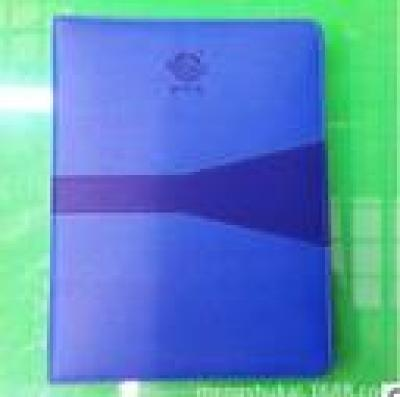 Flyers for exquisite high-end color PU leather gift notepads notebook leather notebook