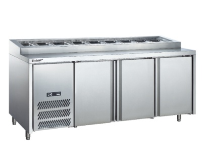 Commercial air cooled pizza cabinets (refrigerated) restaurant kitchen supplies