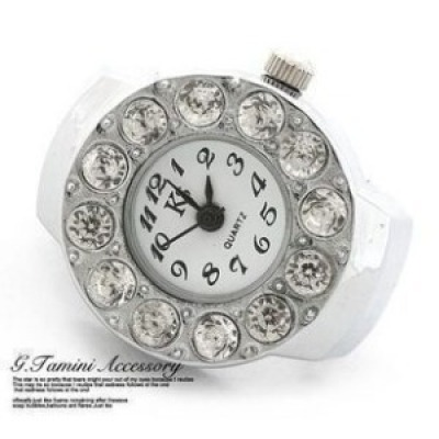 Great cheap novelty fashion gift ring watch rings table