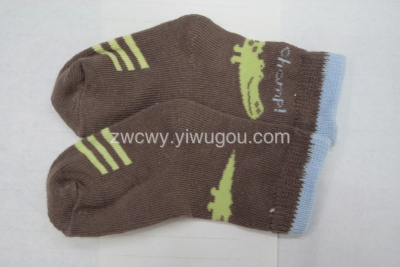 Foreign trade of the original single children's socks pure cotton socks, baby socks Stock