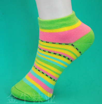 Fashion color boat socks cotton socks-cotton candy-colored female socks boat socks factory direct wholesale