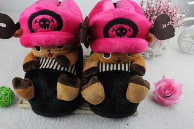 Chopper series cartoon cotton slippers the Korean version of high cotton slipper factory outlet