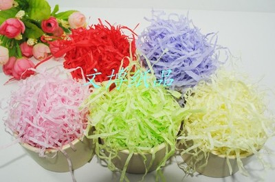 Grass Shredder paper candy boxes fill Lafite Rafi grass paper shredders wire for filler gift box