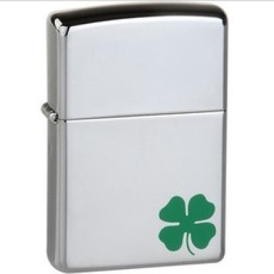ZIPPO flagship United States four Hakusa authentic ZIPPO lighter/lucky/24007