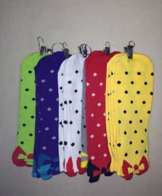 Candy socks, socks, large chemical fiber, good texture, soft, bright color