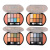 MEIS at 4 series 8 color eye shadow 2 color blush makeup wholesale