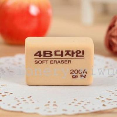 South Korea 4 b Eraser 200A Eraser Eraser factory direct block examination of environmental protection rubber