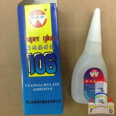 Super glue 502 glue plastic bottle