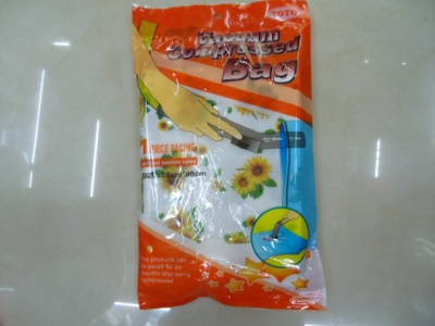 The printed vacuum bag is used for multiple times.