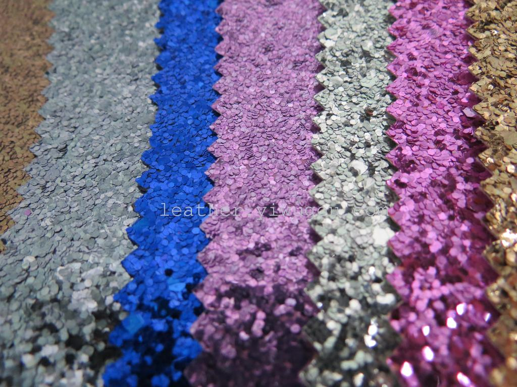 Supply raw materials glitter fabric from China wholesale