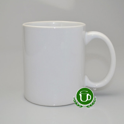 Heat transfer printing wholesale blank printable coating ceramic white Cup 11OZ Cup