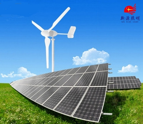 Supply Island 3KW wind-solar hybrid power generation system using