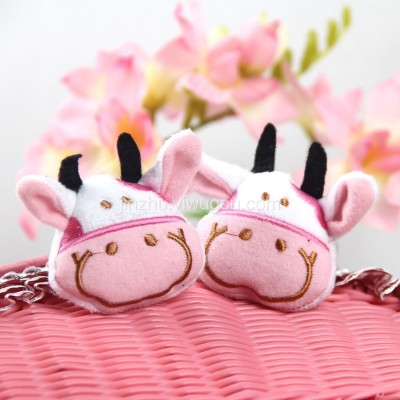 Zip plush toys clothing accessories Accessories DIY cartoon Hat ear muffs glove accessories