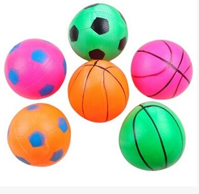 Sexy Amy 16 cm PVC inflatable ball pat basketball kindergarten toy wholesale