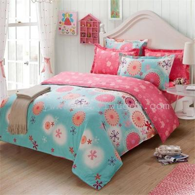 Yiwu Xuege Bedding Cotton four set of children's bedding bedding package export to Europe and the United States