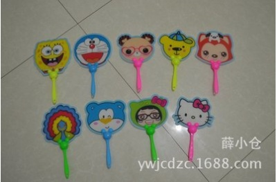 New cartoon led fan led toys wholesale stall in night market stalls selling goods supply wholesale