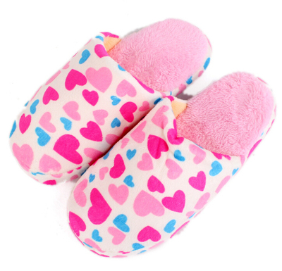 2014 Winter slippers ladies love the floor end of soft home slippers