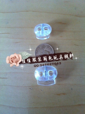 Transparent spring buckle. Transparent pig nose buckle